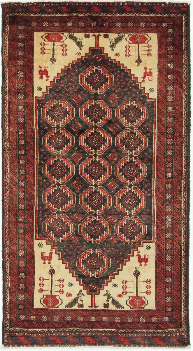 Nain Trading Tapis D'orient Shiraz 211x116 Beige/Rouille (Perse/Iran, Laine, Noué à la main)