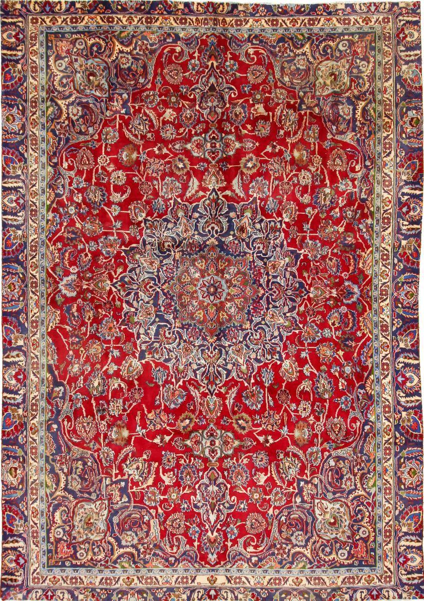 Nain Trading Tapis Persan Mashhad 360x250 Mashhad Rouille/Rose (Noué à la main, Perse/Iran, Laine)
