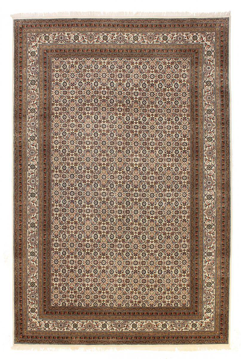 Nain Trading Tapis D'orient Indo Herati Royal 305x198 Beige/Marron Foncé (Inde, Laine, Noué à la main)