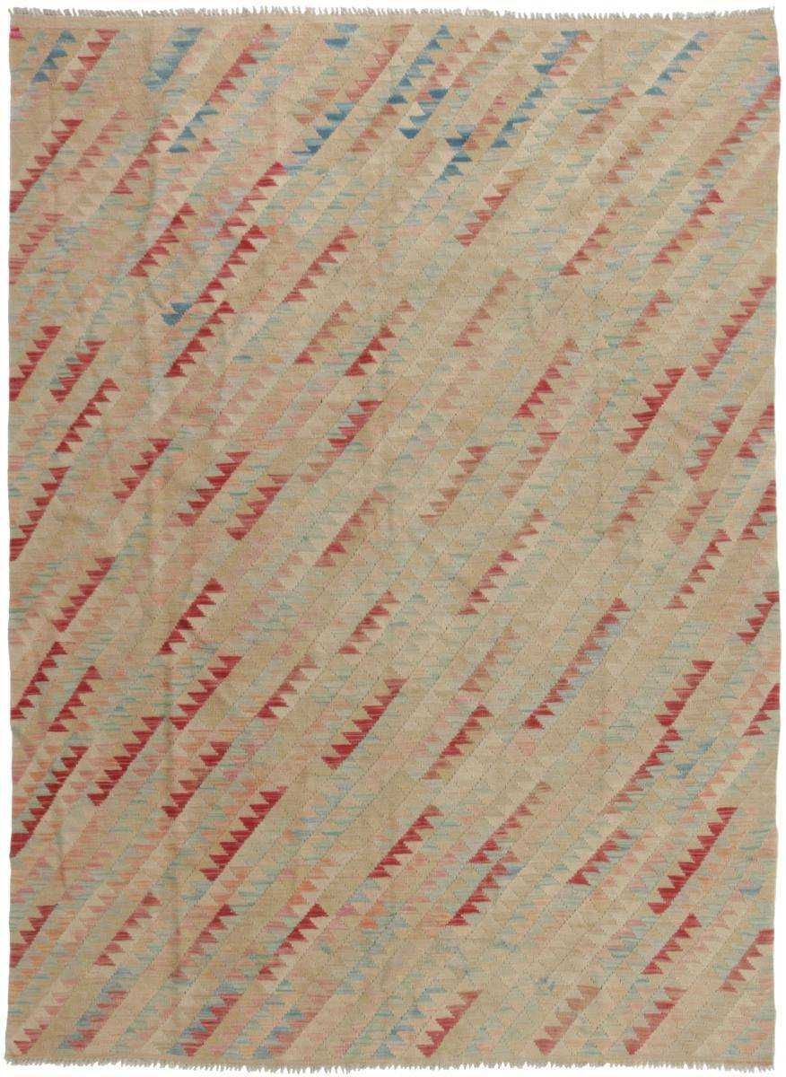 Nain Trading Tapis D'orient Kilim Afghan Himalaya 239x173 Beige/Rose (Noué à la main, Afghanistan, Laine)