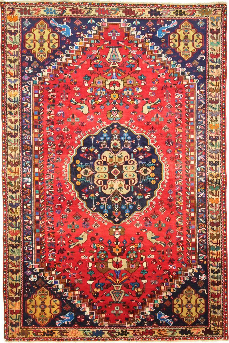 Nain Trading Tapis Fait Main Shiraz 309x206 Gris Foncé/Beige (Laine, Perse/Iran)