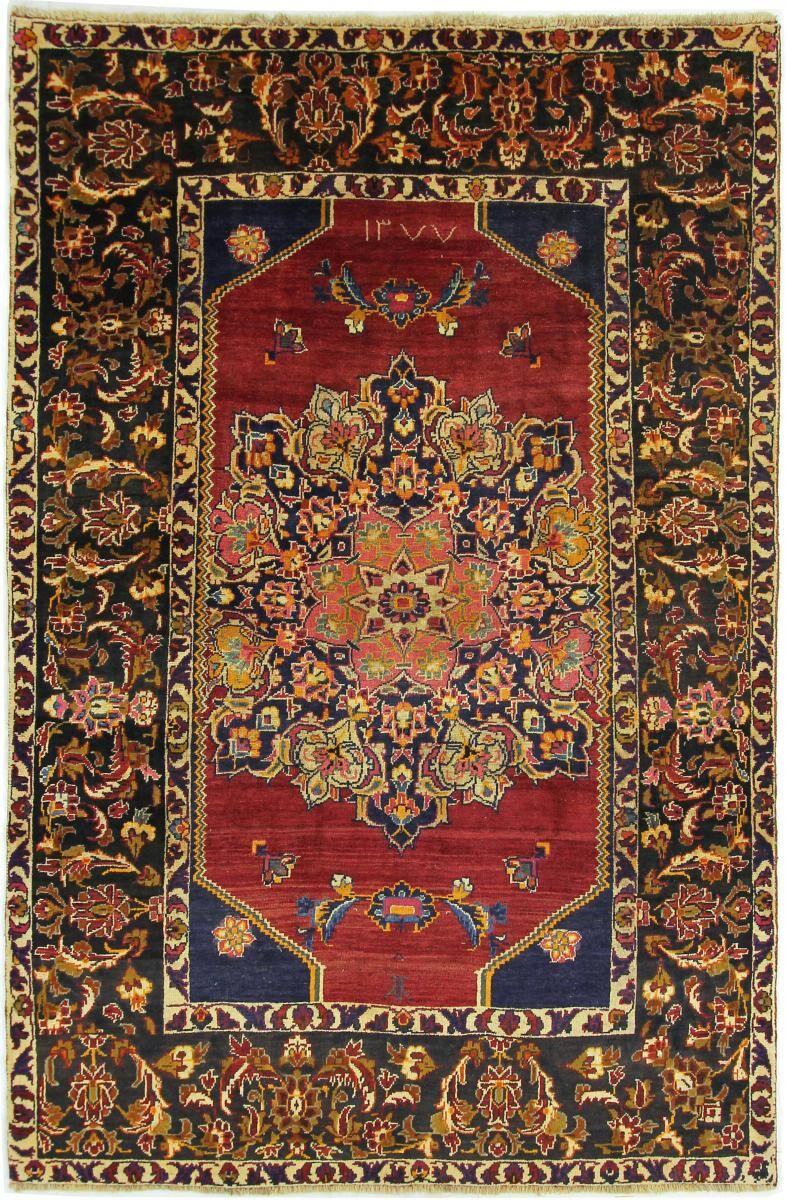Nain Trading Tapis D'orient Shiraz 279x184 Marron/Rouille (Laine, Perse/Iran, Noué à la main)