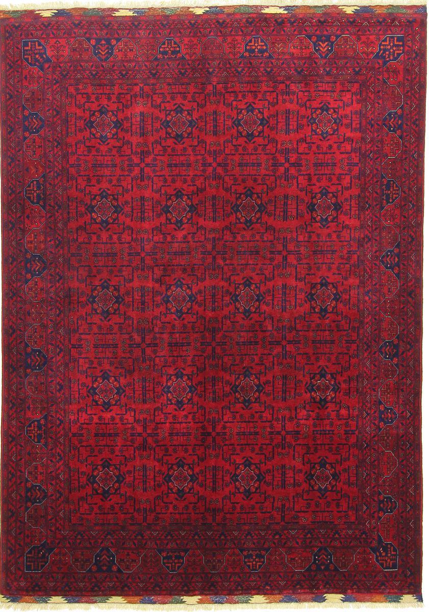 Nain Trading Tapis Authentique Khal Mohammadi Belgique 241x171 Rouille/Violet (Laine, Afghanistan, Noué à la main)