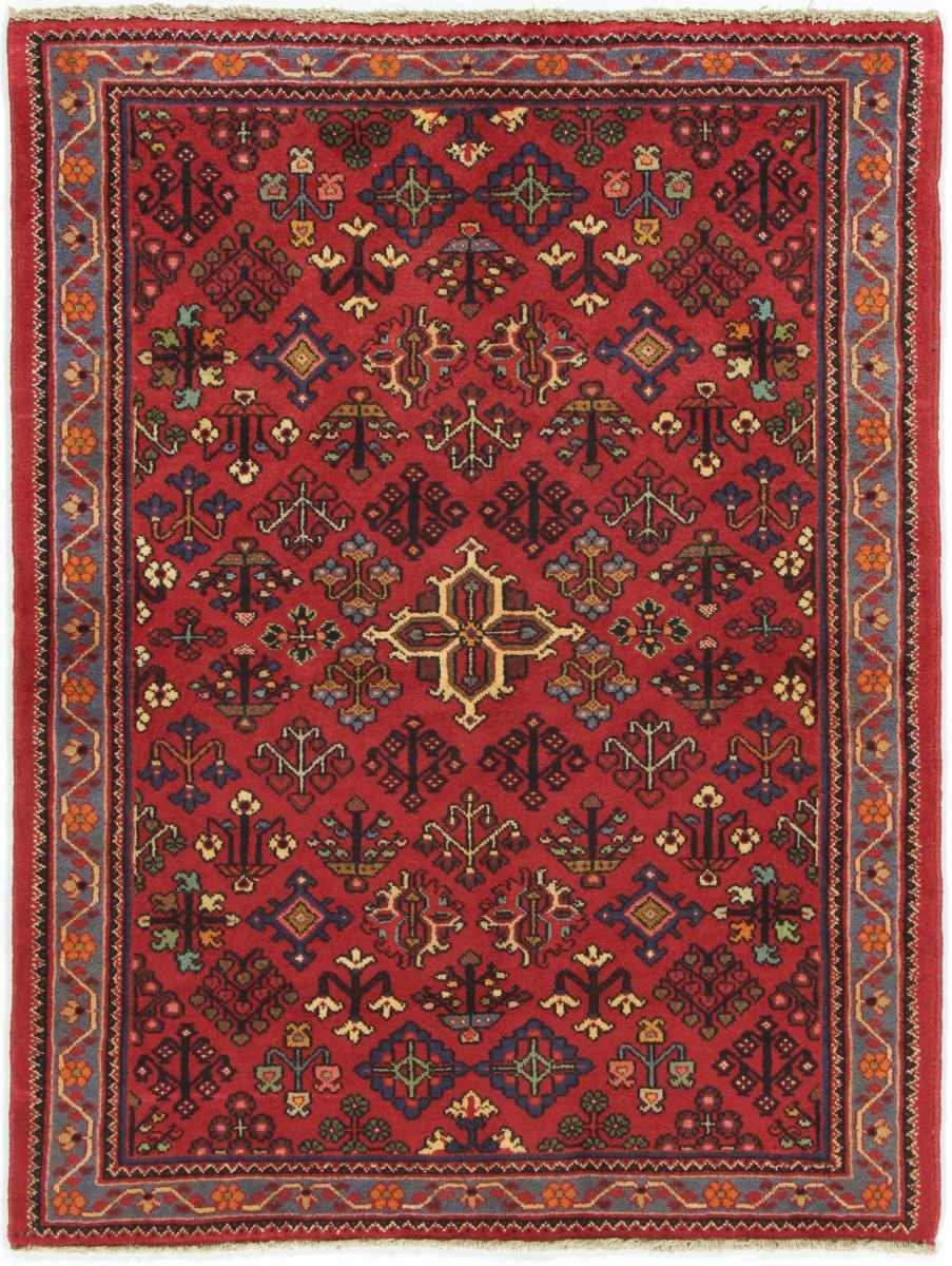 Nain Trading Tapis Persan Shiraz 151x104 Shiraz Rouille/Rose (Noué à la main, Perse/Iran, Laine)