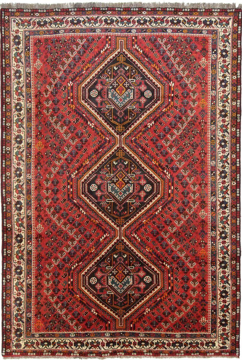 Nain Trading Tapis Fait Main Shiraz 299x203 Violet/Rose (Laine, Perse/Iran)