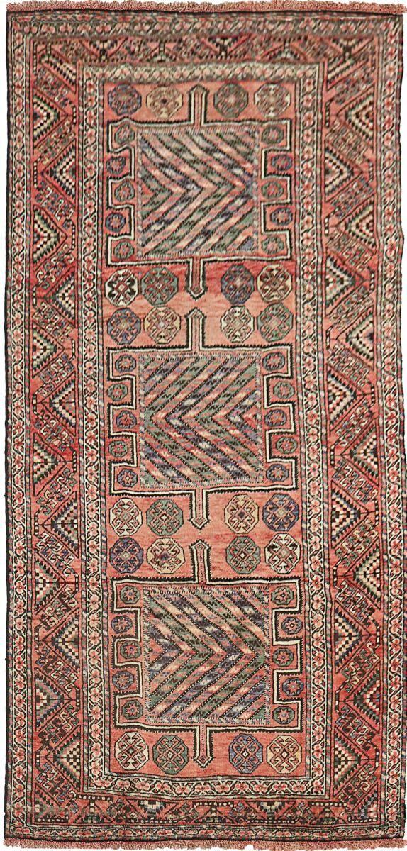 Nain Trading Tapis Persan Shiraz 298x148 Shiraz Marron/Violet (Noué à la main, Perse/Iran, Laine)