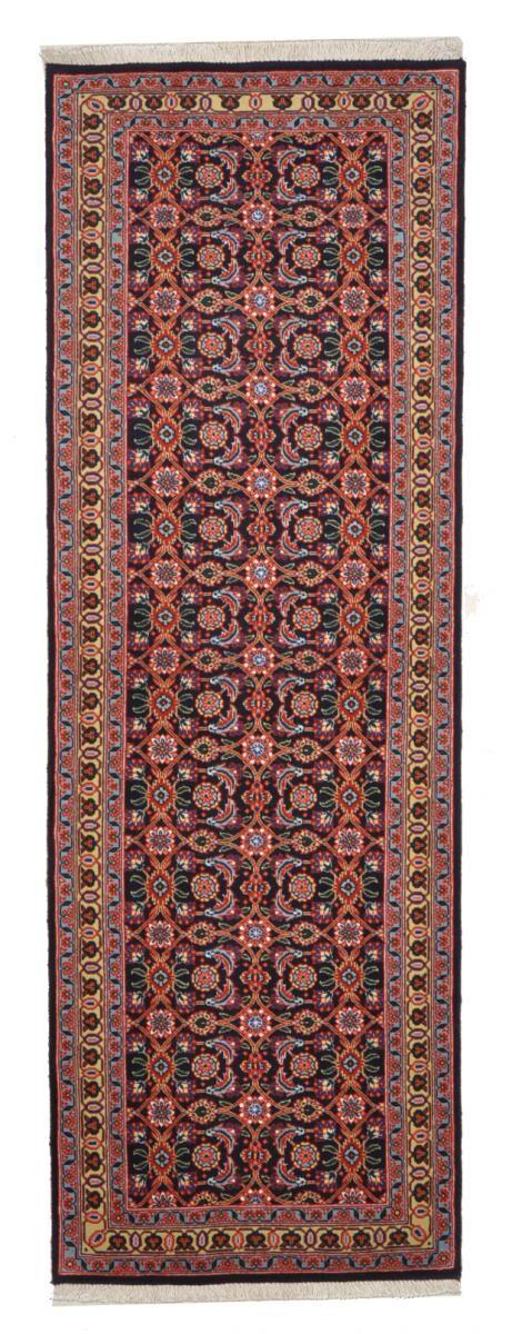 Nain Trading Tapis D'orient Tabriz 194x65 Violet/Rose (Perse/Iran, Laine/Soie, Noué à la main)