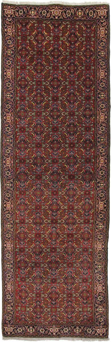 Nain Trading Tapis Fait Main Bidjar Ancien 290x90 Coureur Marron Foncé (Laine, Perse/Iran)
