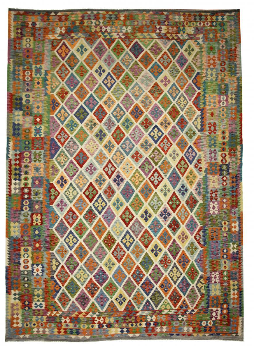 Nain Trading Tapis D'orient Kilim Himalaya 484x355 Beige/Marron (Afghanistan, Laine, Tissé à la main)