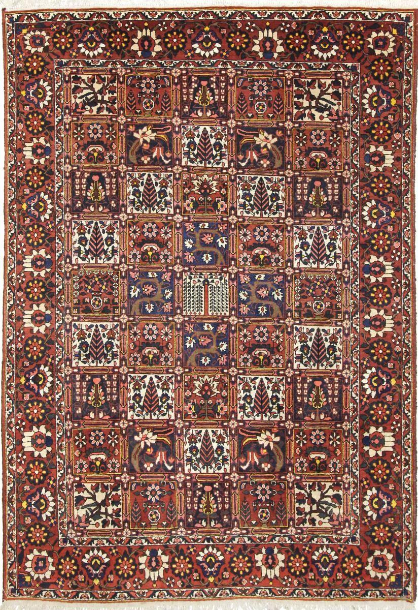 Nain Trading Tapis Bakhtiar Ancien 305x214 Beige/Marron (Laine, Perse/Iran, Noué à la main)