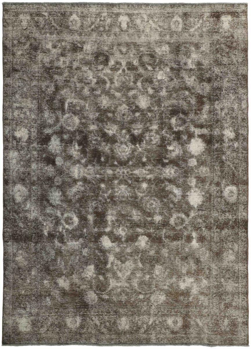 Nain Trading Tapis Vintage Royal 354x251 Gris Foncé/Marron Foncé (Laine, Perse/Iran, Noué à la main)
