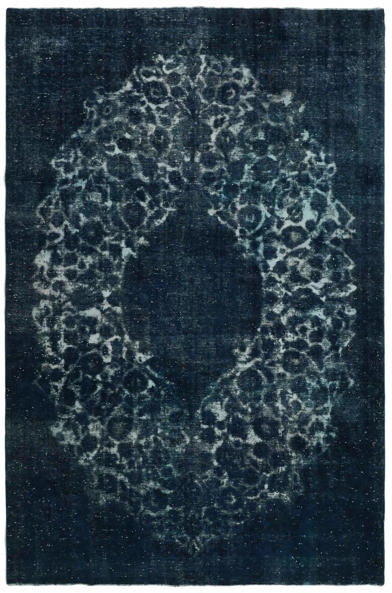 Nain Trading Tapis D'orient Vintage Royal 356x233 Gris Foncé/Bleu Foncé (Laine, Perse/Iran, Noué à la main)