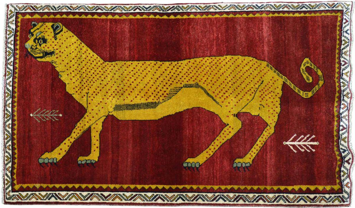 Nain Trading Tapis Shiraz 169x112 Gris/Marron (Laine, Perse/Iran, Noué à la main)