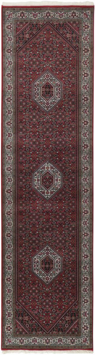 Nain Trading Tapis D'orient Indo Bidjar Royal 303x84 Marron Foncé (Inde, Laine, Noué à la main)