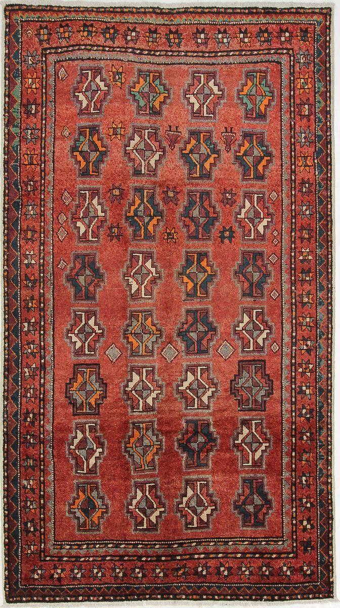 Nain Trading Tapis D'orient Hamadan 293x164 Violet/Rose (Perse/Iran, Laine, Noué à la main)