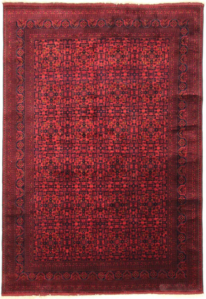 Nain Trading Tapis Authentique Khal Mohammadi Belgique 293x200 Rouille/Violet (Laine, Afghanistan, Noué à la main)