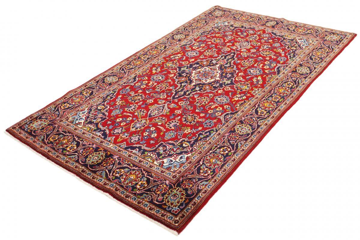 Nain Trading Tapis Persan Kashan 238x141 Kashan Marron Clair/Rouille (Noué à la main, Perse/Iran, Laine)