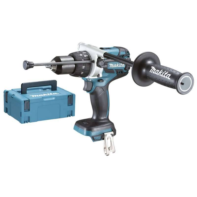 Makita Perceuse Visseuse à Percussion MAKITA DHP481ZJ 18 V Sans Charbon
