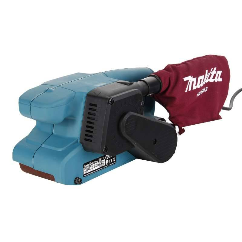 Makita Ponceuse à Bande MAKITA 9911 650 W 76 x 457 mm