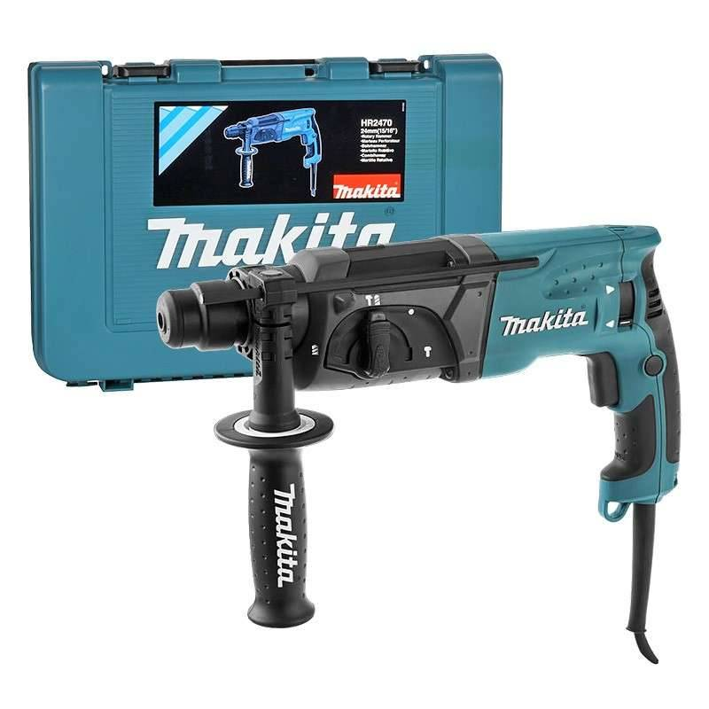 Makita Perforateur burineur MAKITA HR2470 SDS-Plus 780W
