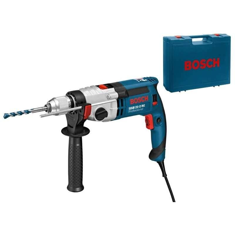 Bosch Perceuse à Percussion BOSCH GSB 21-2 RE Professional 1100 W