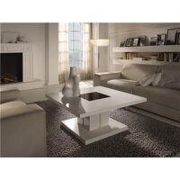M-020 Table basse carrée blanc laqué design DOMI <br /><b>1092.79 EUR</b> Kasalinea