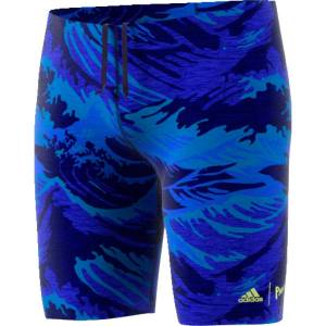 """adidas Jammer adidas Parley Fitness - 22"""" Blue/Yellow   Jammers"""