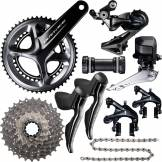 Shimano Groupe Shimano Dura-Ace R9150 Di2 (11 vitesses) - 175mm 53-39 11-25