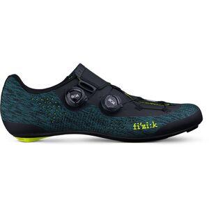 Fizik Chaussures de route Fizik R1 Infinito Knit - 47 Blue/Yellow