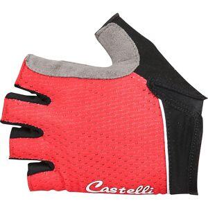 Castelli Gants courts Femme Castelli Roubaix (gel) SS18 Rouge L