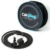 CARPLUG Câble de recharge - T2T2 - 4m - 7,4kW (1 phase 32A) - voiture électrique + Housse