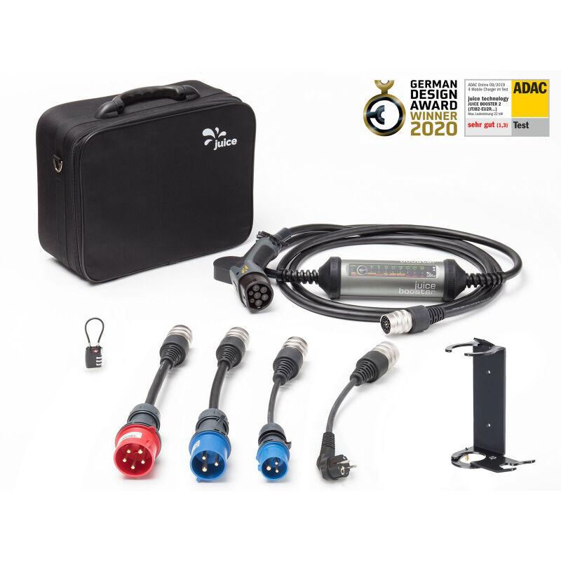 JUICE TECHNOLOGY JUICE BOOSTER 2 - Pack L - Borne mobile de recharge 22kW - Type 2 - câble 5m