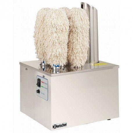 BARTSCHER Machine à essuyer et polir verres professionnelle