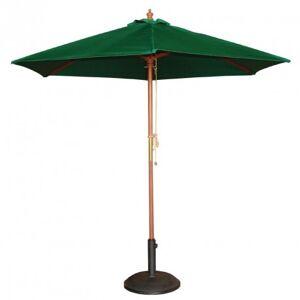 BOLERO Parasol de Terrasse à Poulie Vert Professionnel de 2,5 m - Bolero - Publicité