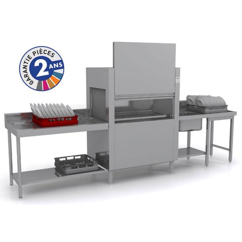 COLGED Lave-vaisselle à avancement automatique - Lavage + Rinçage - ISY31101