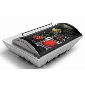 SAYL Saladette à Poser Réfrigérée Série BOX 8 Bacs GN 1/6 - SAYL - Publicité