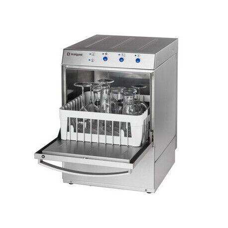 STALGAST Lave verre professionnel monophasé avec doseur de liquide de lavage - 350 x 350 mm - Stalgast
