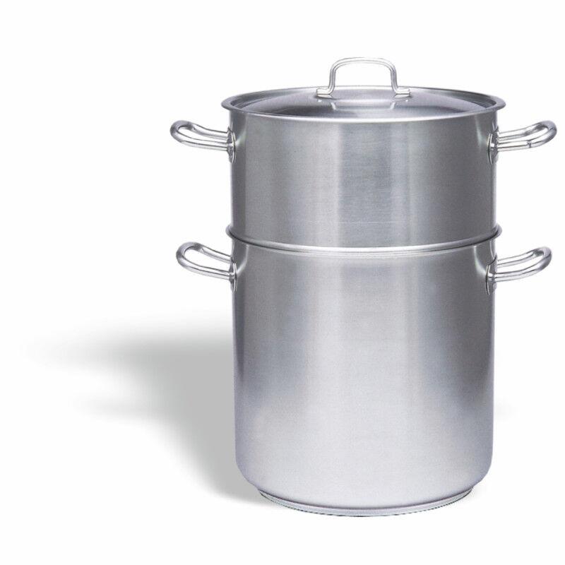 PUJADAS Couscoussier Professionnel Inox 24 litres - Pujadas