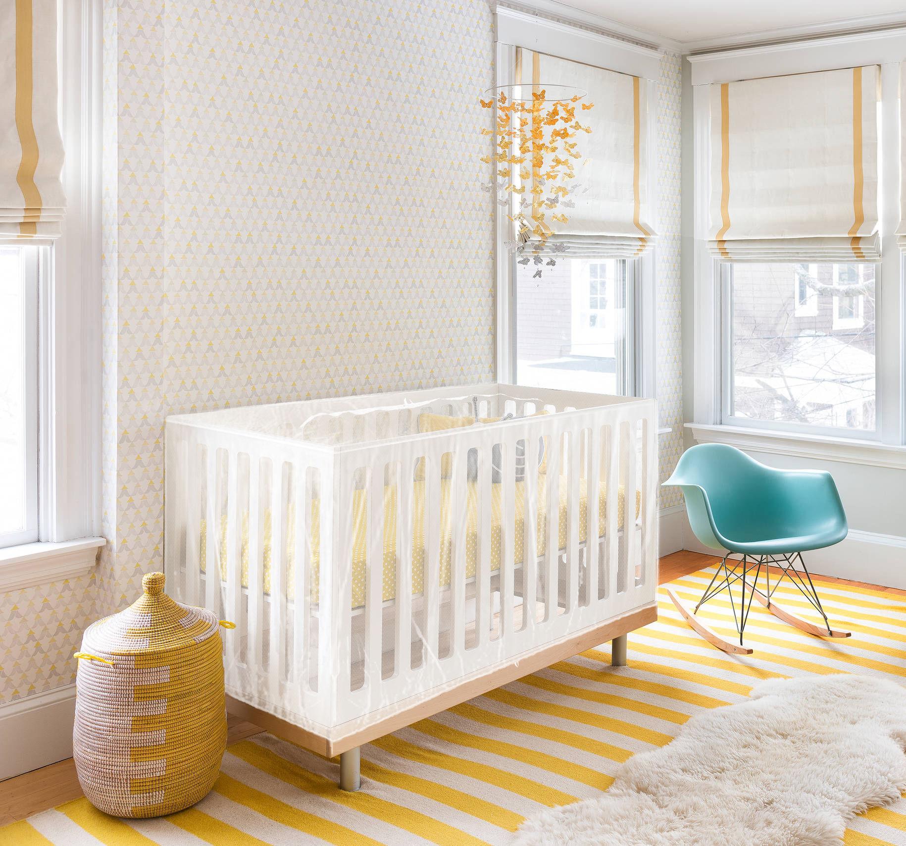 AVOSDIM Moustiquaire pour lit bébé avec fermeture zippée universel