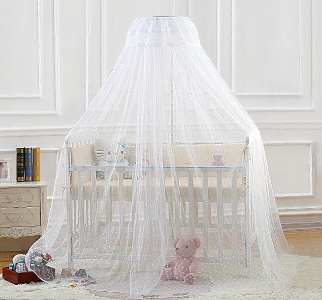 MOUSTICLAIRE Moustiquaire ciel de lit pour lit bébé universel