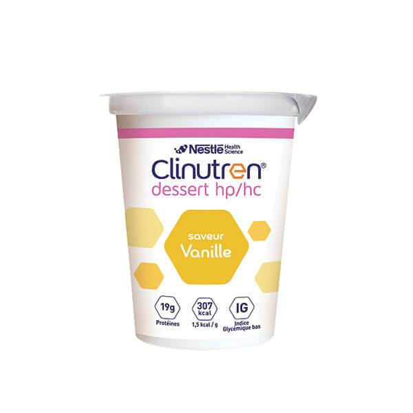 NestlÉ health science Clinutren dessert HP/HC vanille 4x200g