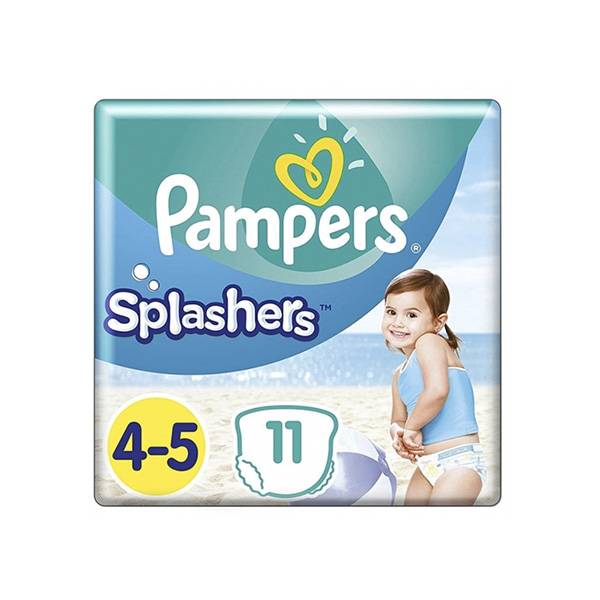 Pampers Splashers 11 couches-culottes de bain jetables taille 4-5 (9-15 kg)
