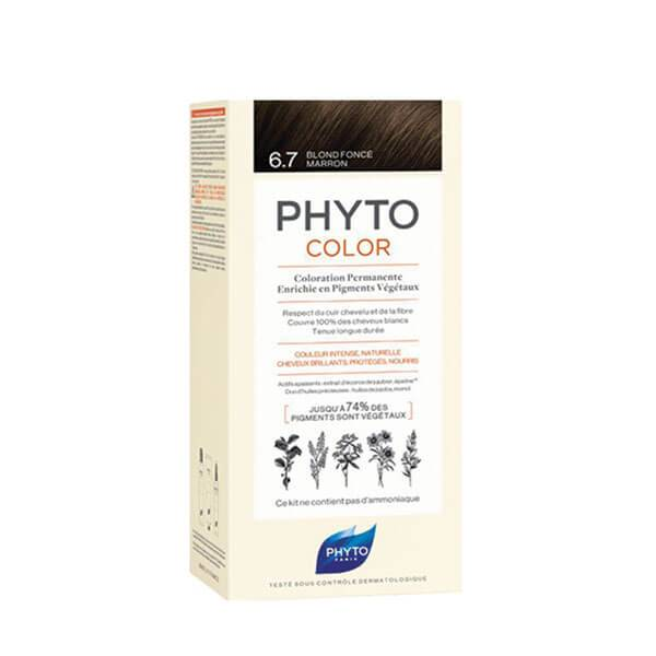 Phyto PhytoColor coloration permanente teinte 6.7 blond foncé marron 1 kit