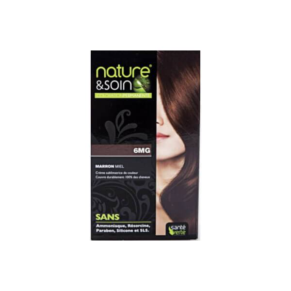 Sante verte Nature & soin coloration permanente marron miel 6mg