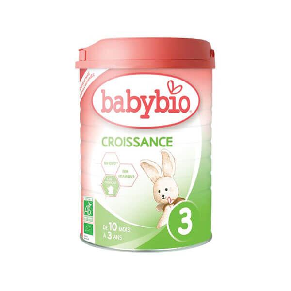 Babybio Lait croissance poudre 3 900g