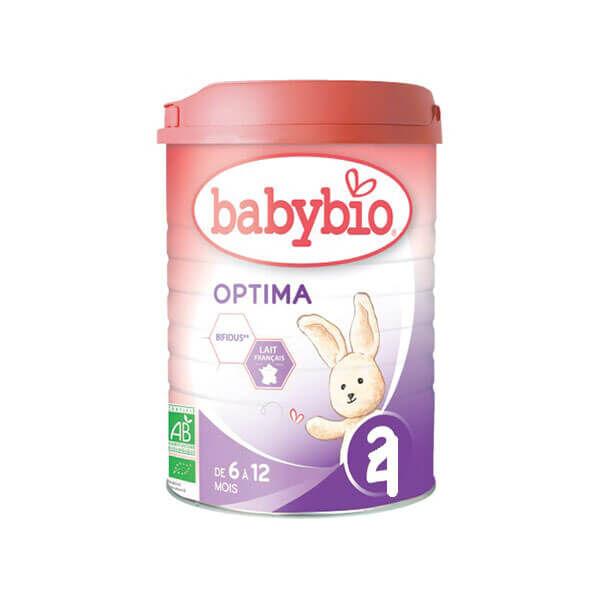 Babybio Optima lait 2ème âge 900g