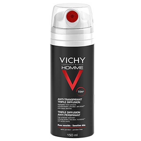 Vichy Homme déodorant anti-transpirant triple diffusion 150ml