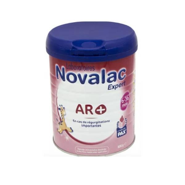 Novalac Lait 2ème et 3ème âge AR + 800g