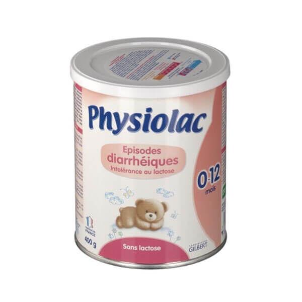 Physiolac Lait épisodes diarrhéiques 0 à12 mois 400 g