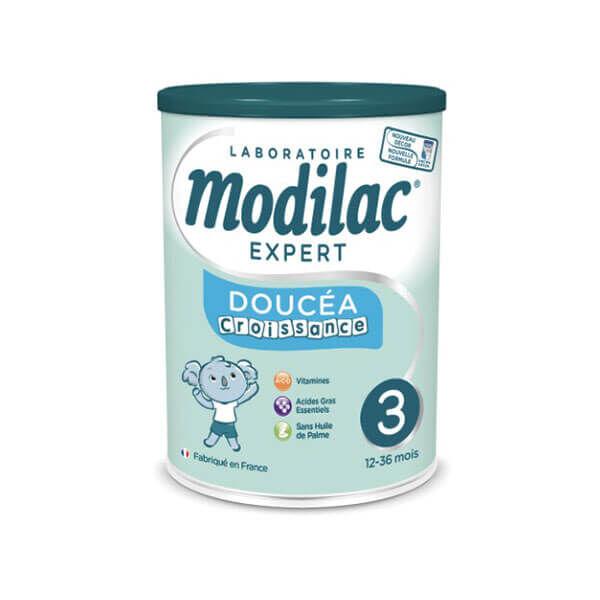 Modilac Expert doucéa lait 3ème âge croissance 800g